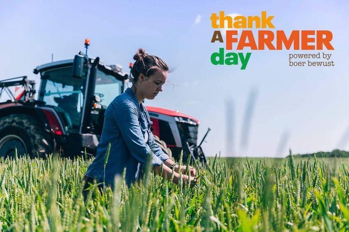 Vandaag is het Thank a Farmer Day.